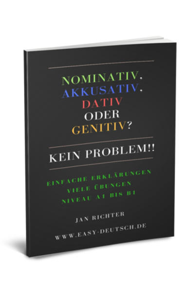 Nominativ akkusativ dativ oder genitiv kein problem for Nominativ akkusativ dativ